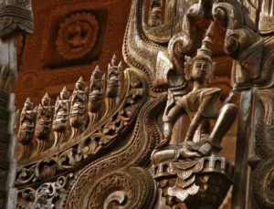 Teak furniture and art from Thailand